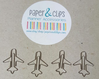 5 Airplane Paper Clip