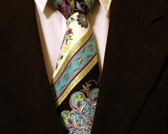 Necktie, Neckwear, Blue Necktie, Purple Necktie, Cotton Necktie, Floral Necktie, Asian Necktie, Metallic Necktie, Black Necktie, Tie.