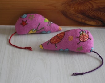 Cat, mouse for recycled cat toy, contains catnip, catnip organic, eco-friendly toy