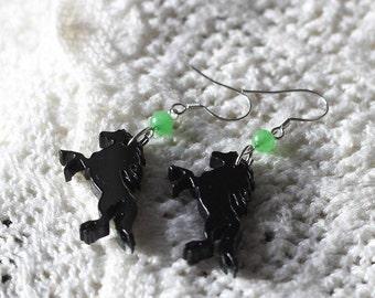 Handmade horse earrings