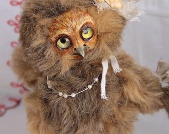 "Art toys Teddy Doll ""Owl"".  20 см"