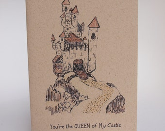 Greeting Card - You're the Queen of my castle