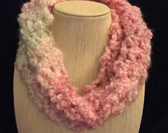 Spring stripes circular scarf
