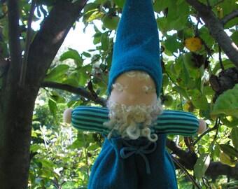 Pim, Waldorf doll, tomten, leprechaun, handmade, small doll, gnome doll, manikin doll, fabric doll, rag doll, cloth doll, baby boy doll