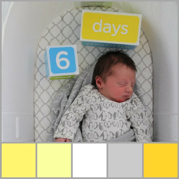 Baby Bjorn Fitted Bassinet Sheets Yellow Gold Gray And White