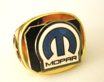 Mopar(Chrysler)18 Carat Gold Plated Ring
