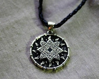 "Pendant ""Star Lada"" (patterned)"