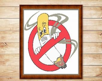 CROSS+STITCH+PATTERN+No+Smoke