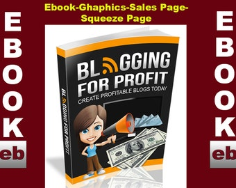 Blogging For Profit 2015-EBOOK: Download-PDF-Digital-Website-Images