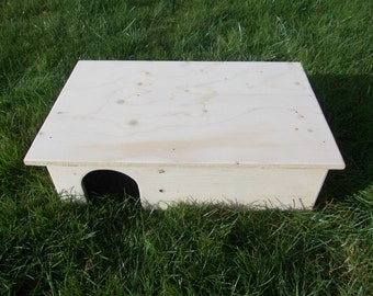 Guinea Pig/ Small Rabbit House/ Shelter/ Two Doors/ 20' x 13' x 6'