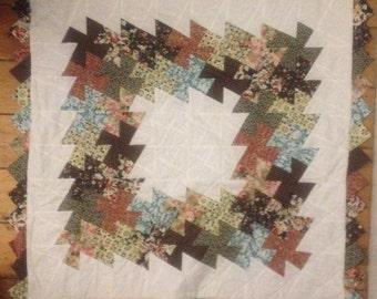 Square Dance Lap Quilt Pattern