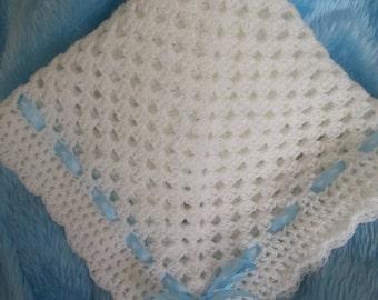 Foreverbabies~Beautiful Handmade Crochet baby blanket