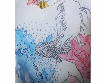 Sweet smelling mermaid rose