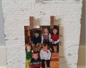 Barnwood picture display