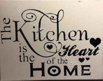 """11"""" x 14"""" Kitchen Canvas"""