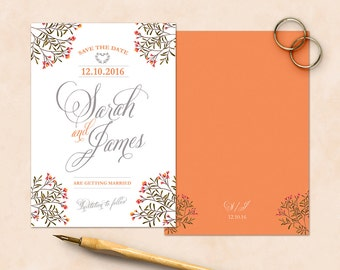 Dainty Details Save the Date Cards