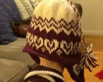 Childs knitted hat