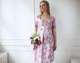 "Maternity dress ""Flowers"""