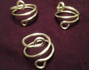 Silver Wire Rings