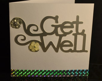 Get Well homemade Card