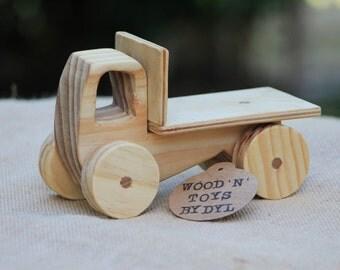 Trevor - Handmade Wooden Toy Truck