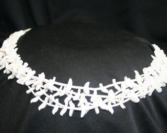 White bird Fetish Necklace