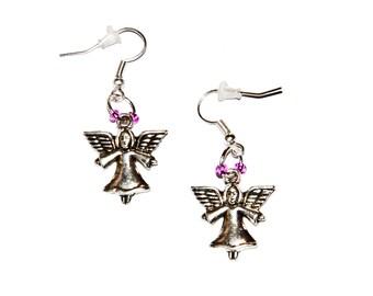 """Earrings earrings """"Angel"""" - [# SC. 2015.004]"""