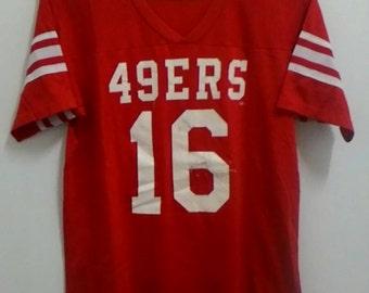 Rare vintage jersey baseball 49ERS