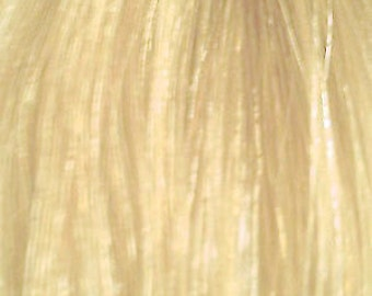 100% Human Hair Extension Clip in Streak Straight -  Bleach Blonde Short