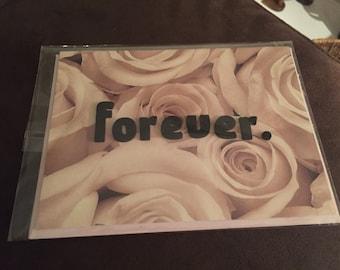 """Handmade card- forever- 6x4"""""""