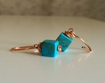 Little Turquoise Cubes