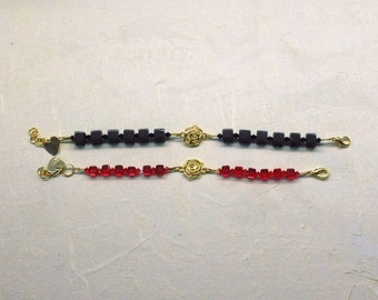 Bracelet with Golden Flower