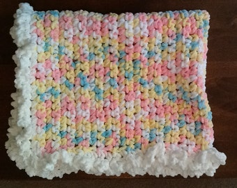 Soft & Cozy Crocheted Baby Bkanket