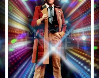 Doctor Who - Portraits of the Doctor - Sixth Doctor - Print