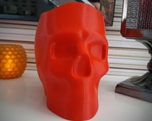 3D Printed Halloween Skull Candy Bowl or Planter