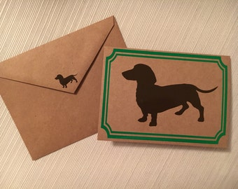 Dachshund Notecards