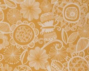 "FreeSpirit  ""Highline""  Chelsea  in Yellow Cotton Fabric  by Erin McMorris"