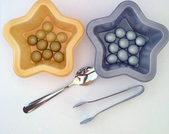 Pebbles/Gems Sorting Toy, Montessori Educational Game