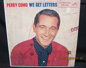 Perry Como We Get Letters - RCA Victor Records