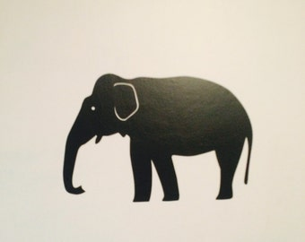 Elephant Wall Graphic