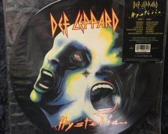 "Def Leppard ""Hysteria"" 1987 Picture Disc"