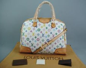 Lv colorful handbags with all accessories