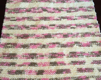 Baby Girl Carriage or Crib Blanket