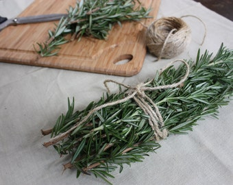 Dried Rosemary Bundle/Smudge