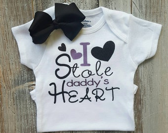 Baby girl clothes, Onesie, Baby girl, Baby clothes, Baby, Baby girl onesie, Onesies, Baby onesies, Baby girl onesies, Daddy onesies, Cute