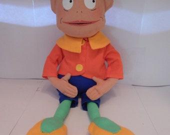 Rare Brownies Do Good Work Ltd, Martha Heller Palmer Cox Brownie Cloth Doll 1987