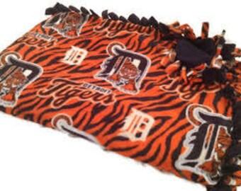 Deroit Tiger Pet Blanket