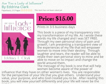 Are You a Lady of Influence? Book