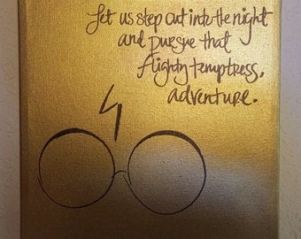 Custom Quote Canvas- Harry Potter and the Half Blood Prince