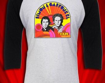 Simon & Garfunkel Vintage Tee Tour Concert Jersey 1970